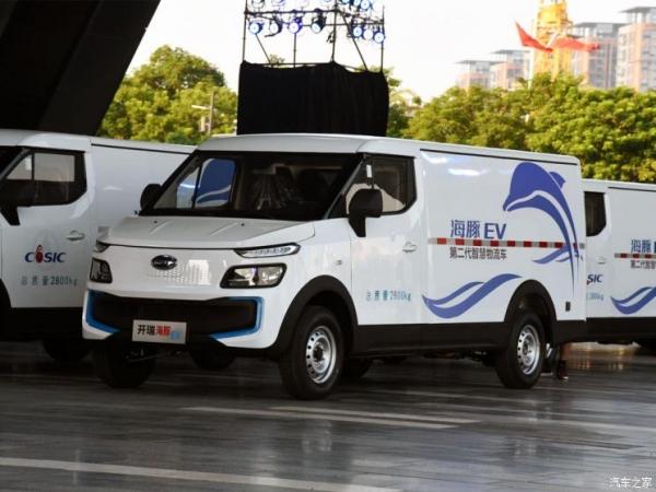 惠州海豚EV电动物流车