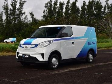 上汽大通 上汽MAXUS EV30 2019款 城市物流车快运版短轴上汽时代52.5kWh